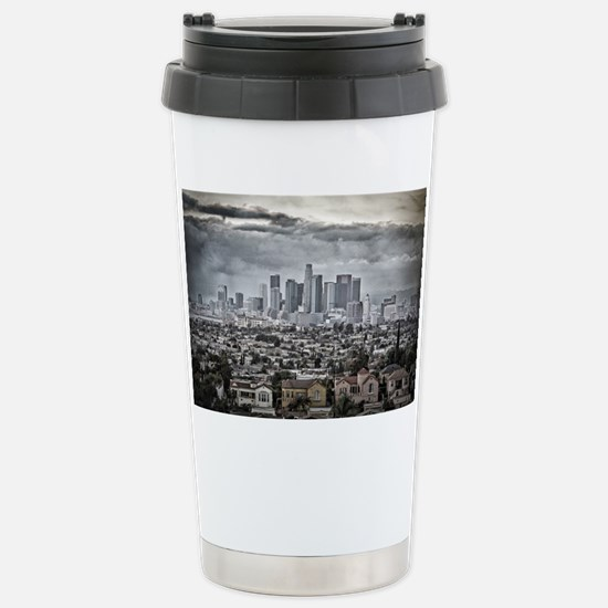 Los Angeles, East View Stainless Steel Travel Mug