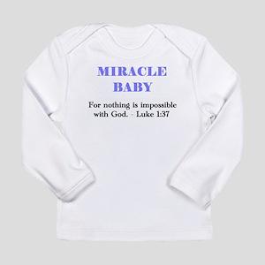 miraclebabyshirtdoneBLUE Long Sleeve T-Shirt