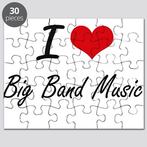 I Love BIG BAND MUSIC Puzzle