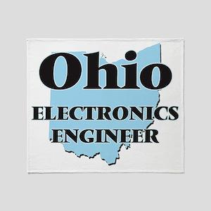 Ohio Electronics Engineer Throw Blanket