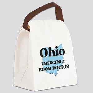 Ohio Emergency Room Doctor Canvas Lunch Bag