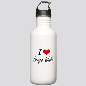 I Love BONGO WAKE Stainless Water Bottle 1.0L