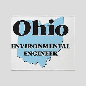 Ohio Environmental Engineer Throw Blanket