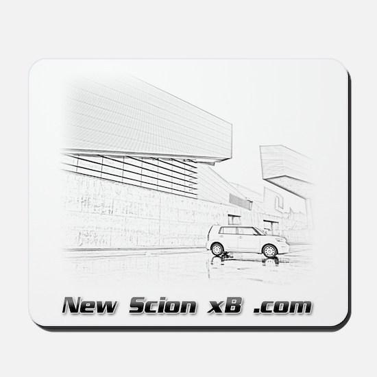 xB Sketch Mousepad