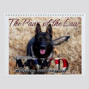 Paws of the Law 2008 Calendar