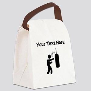 Punching Bag Canvas Lunch Bag