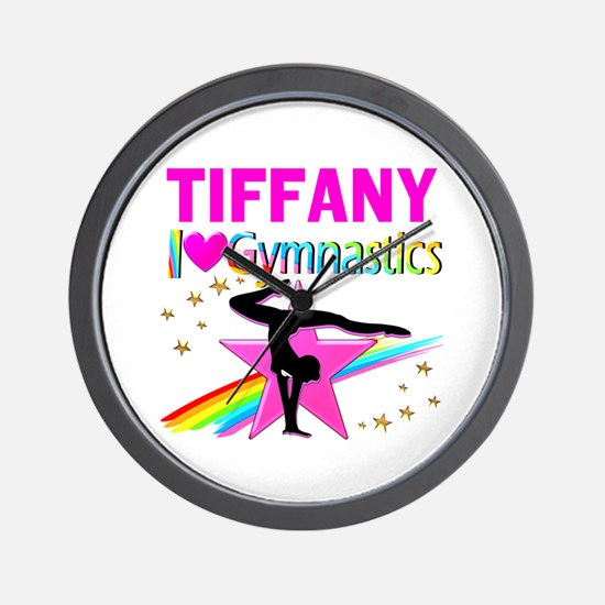 FIERCE GYMNAST Wall Clock