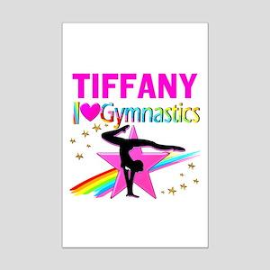 FIERCE GYMNAST Mini Poster Print