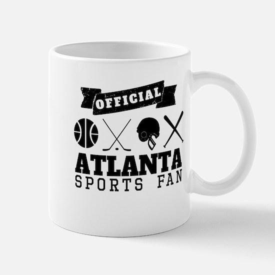 Official Atlanta Sports Fan Mugs