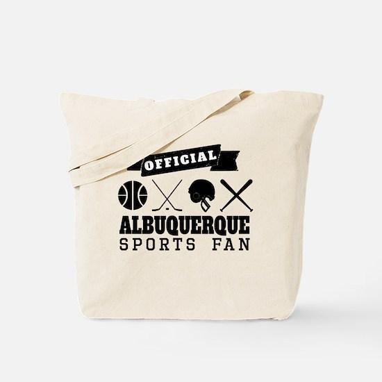 Official Albuquerque Sports Fan Tote Bag