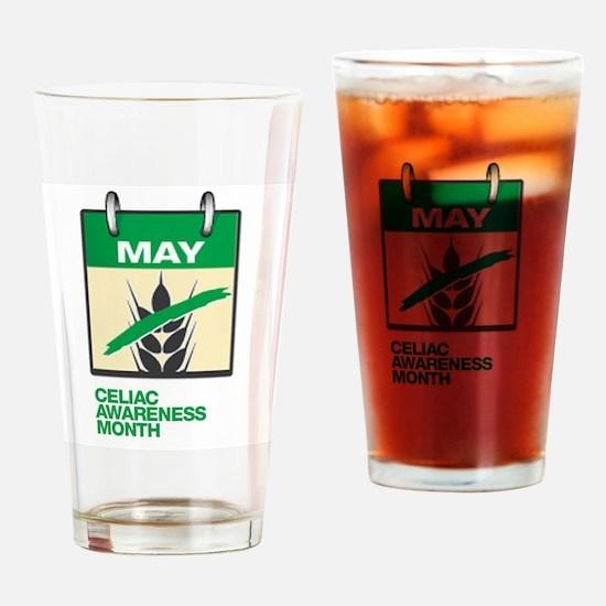 Cute Celiac awareness Drinking Glass