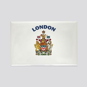 London Coat of Arms Rectangle Magnet