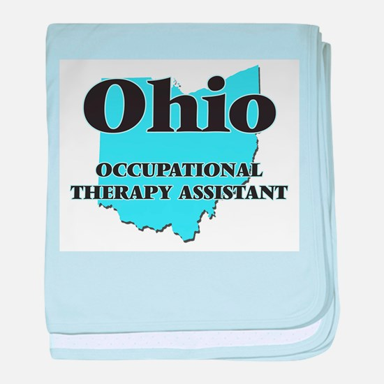 Ohio Occupational Therapy Assistant baby blanket