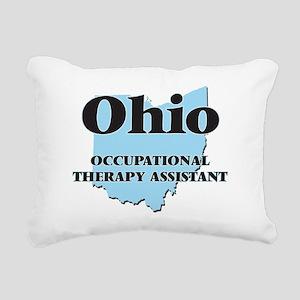 Ohio Occupational Therap Rectangular Canvas Pillow