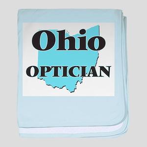 Ohio Optician baby blanket