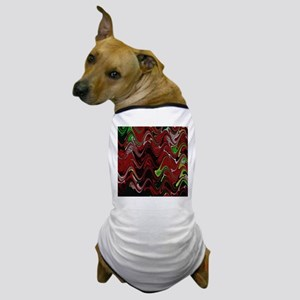 Red Marble Dog T-Shirt