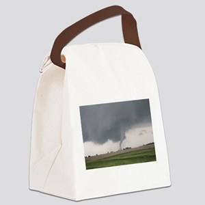 Field Tornado Canvas Lunch Bag