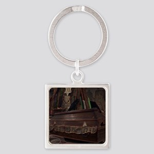 The Rising Square Keychain