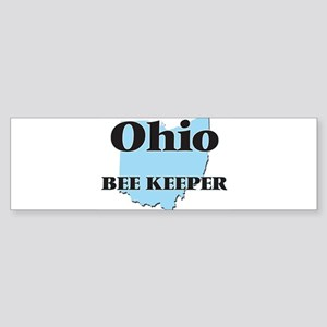 Ohio Bee Keeper Bumper Sticker
