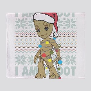 I Am Grootmas Throw Blanket