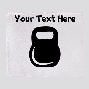 Kettle Bell Throw Blanket