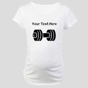 Dumbbell Maternity T-Shirt