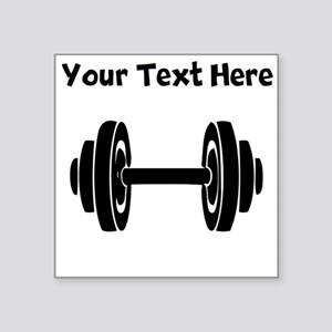 Dumbbell Sticker