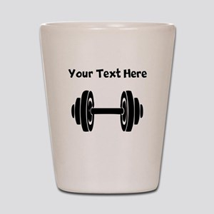 Dumbbell Shot Glass