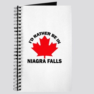 I'd Rather Be in Niagra Falls Journal