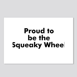 Proud to be the Squeaky Wheel Postcards (Package o