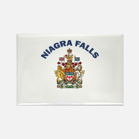 Niagra Falls Coat of Arms Rectangle Magnet