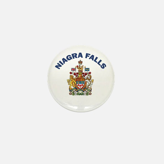 Niagra Falls Coat of Arms Mini Button
