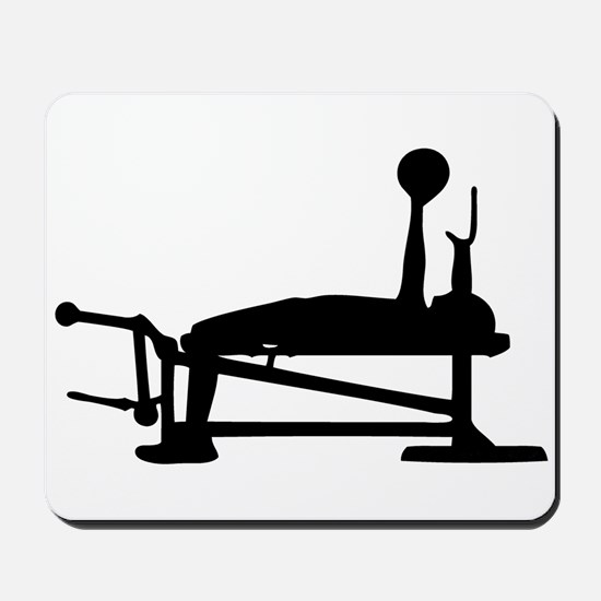 Bench Press Mousepad