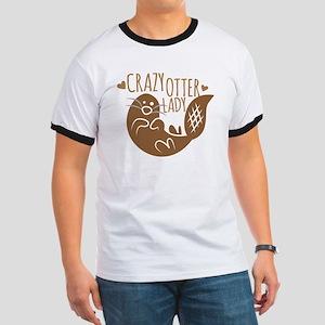 Crazy Otter Lady T-Shirt