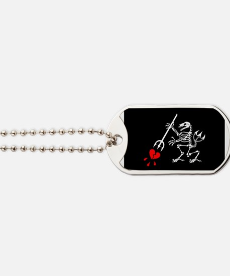 ST6 Pirate Flag Dog Tags