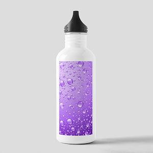 Metallic Purple Abstra Stainless Water Bottle 1.0L