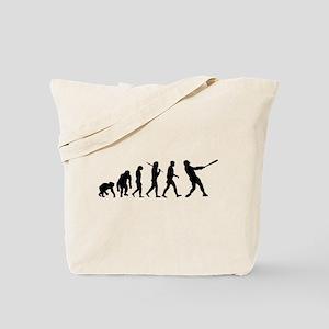 Evolution of Baseball Tote Bag