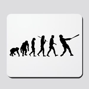 Evolution of Baseball Mousepad