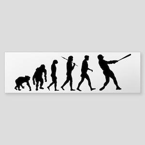 Evolution of Baseball Sticker (Bumper)