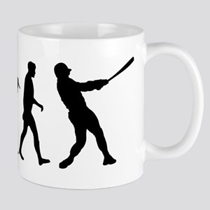Evolution of Baseball Mug