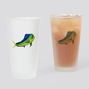 Bull Mahi Mahi Drinking Glass
