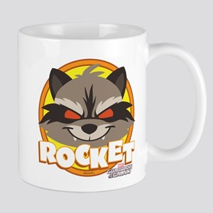 GOTG Animated Rocket Cute Mug