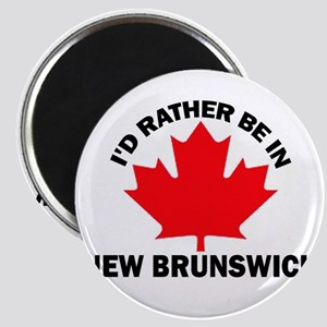 I'd Rather Be in New Brunswic Magnet