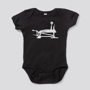 Bench Press Baby Bodysuit