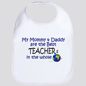 Best Teachers In The World Bib