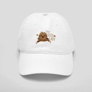 Crazy Sloth lady Cap