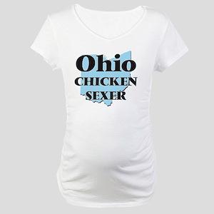 Ohio Chicken Sexer Maternity T-Shirt