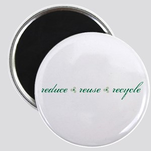 reduce.reuse.recycle Magnet