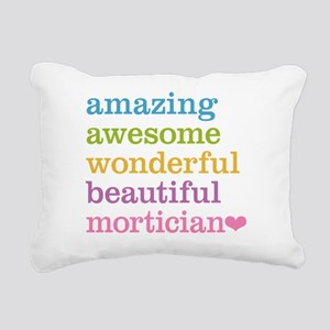 Amazing Mortician Rectangular Canvas Pillow