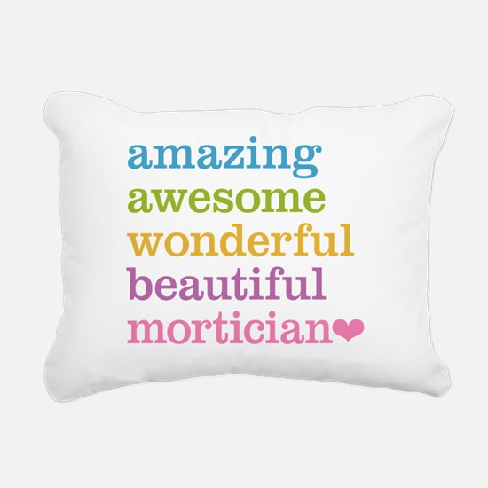 Amazing Mortician Rectangular Canvas Pillow